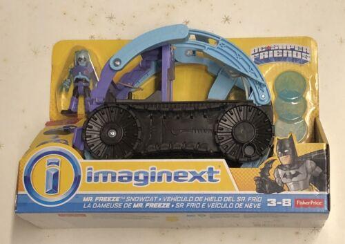 Fisher Price Imaginext DC Super Friends Mr Freeze Snowcat Vehicle Playset NIP