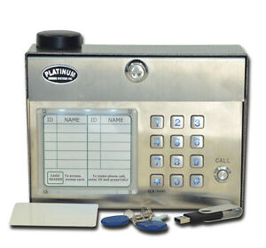 Platinum Gate Openers Pa2000 Series Cell Phone Gate Entry