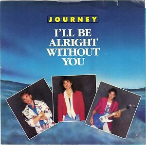 Details about JOURNEY (I'll Be Alright Without You) Columbia 38-06301 =  PICTURE SLEEVE ONLY!