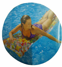 """INTEX Delux Swim Swimming Pool Floating Floats Tub Bed for Adults Size 72 x 27"""""""