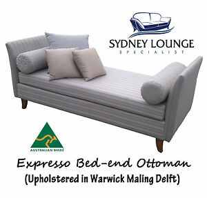 Incredible Details About Australian Made Expresso Bed End Ottoman Bay Window Day Chaise Lounge Cjindustries Chair Design For Home Cjindustriesco