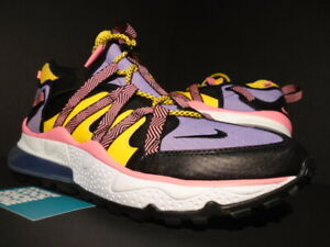 Details about NIKE AIR MAX 270 BOWFIN 90 BLACK ATOMIC VIOLET WHITE PINK PURPLE AJ7200 004 10.5