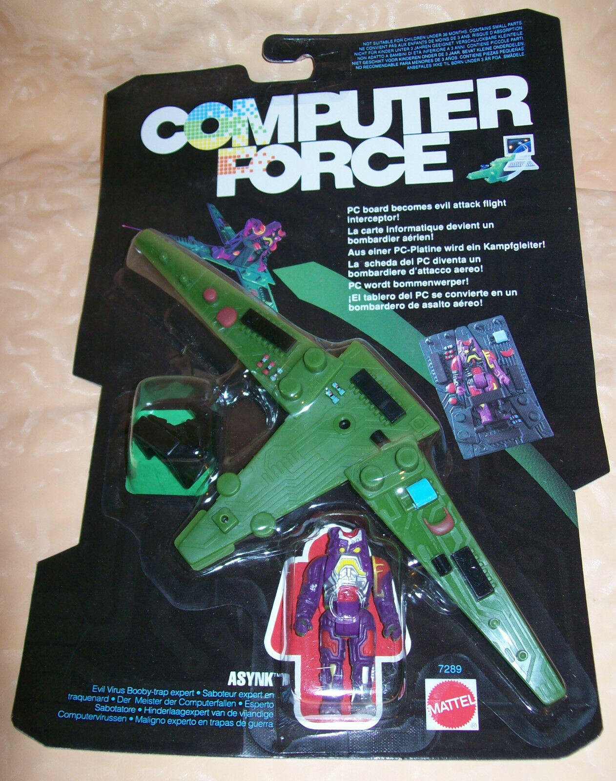 COMPUTER FORCE MATTEL ASYNK anno 1989  cod.5478
