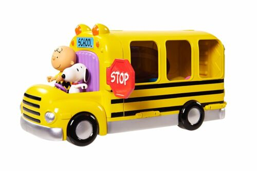 03 Peanuts Bus Schulbus Klassenzimmer 2 in 1 IMC Toys Charly,Sally, Snoopy