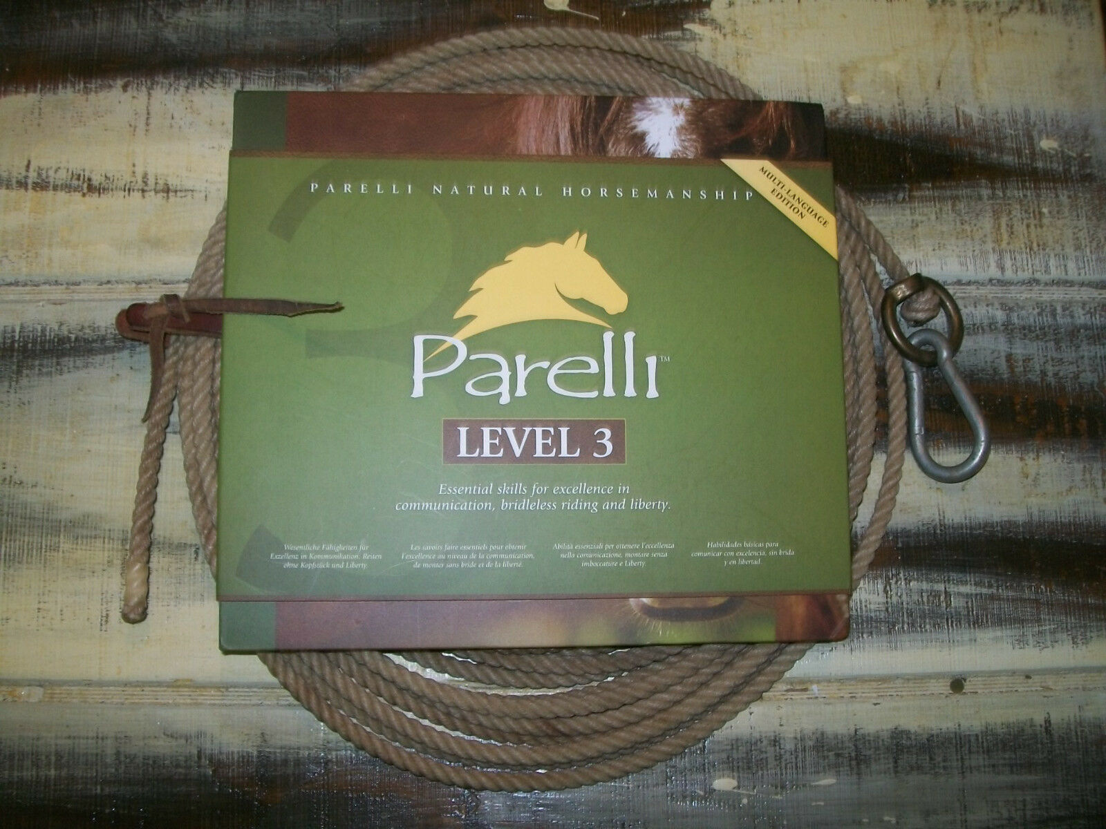 Parelli Pathways Level 3  Skills For Excellence,Bridleless Riding