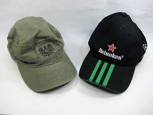 Adidas Heineken Beer One Size Fits All Strapback Dad Hat Baseball ... 3f2a5b5bc95