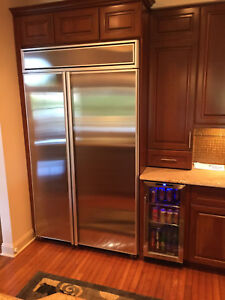 STAINLESS STEEL REFRIGERATOR DOOR PANELS FOR MOST B/I MODELS by ...
