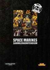 WARHAMMER 40.000-CODEX-SPACE MARINES-SAMMLERKOMPENDIUM-GAMES WORKSHOP-Rarität