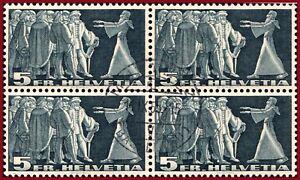 Schweiz-1955-Symbolische-Darstellungen-5-Fr-VB-m-Zentrumstempel-Mi-329x-Z-217x