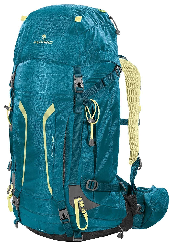 Zaino Finisterre 40L Lady emerald Ferrino trekking scout donna cammino santiago