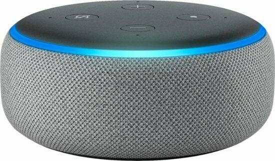 BRAND NEW Amazon Echo Dot (3rd Generation) Smart Speaker - Heather Gray