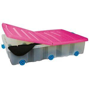 Unterbettkommode-mit-Rollen-55-L-Unterbettbox-Rollenbox-Spielzeugkiste-Rollbox