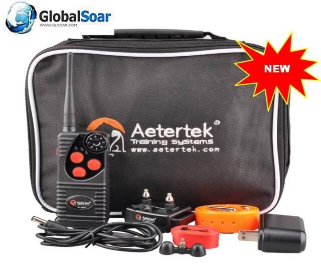 Aetertek 216D-550 600 Yard 1 DOG TRAINING&Anti Bark COLLAR WITH 100% WATERPROOF