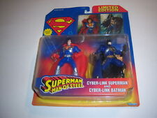 1996 Superman + Batman Cyberlink Figures