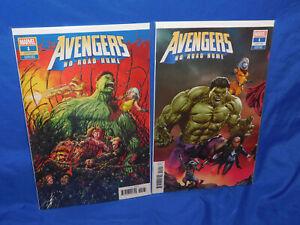 Avengers No Road Home # 1 Medina 2nd Print Variant NM Marvel