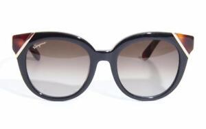b918fad89e9 Image is loading SALVATORE-FERRAGAMO-Womens-Sunglasses -Black-Tortoise-Color-SF836S-