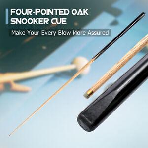3-4-Piece-145CM-57-Inch-Handmade-Oak-Wood-Snooker-Cue-Extension-9-10MM-Tips