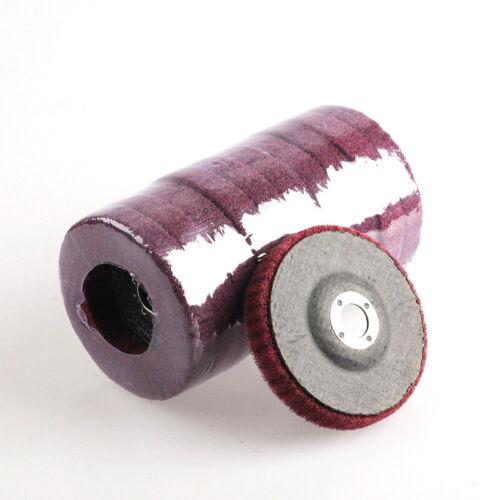 Vliesstoff  Fächerscheiben Lamellenscheiben Schleifscheiben 10 Stk.100*16mm