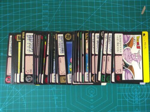 DRAGON BALL Z CARDDASS PART 7 FULL REGULAR 36 CARDS SET