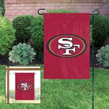 San Francisco 49ers Embroidered Garden Window Flag