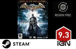 Batman-Arkham-Asylum-GOTY-PC-Steam-Download-Key-schnelle-Lieferung
