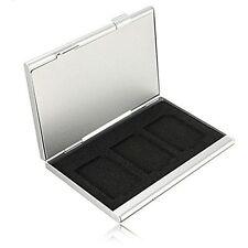 Aleación Aluminio Tarjeta de memoria de 6SD Caja de Almacenamiento Estuche Soporte vendedor del Reino Unido