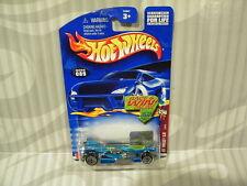 2002 HOT WHEELS ''SPECTRAFLAME II'' #089 = JET THREAT 3.0 = BLUE , win
