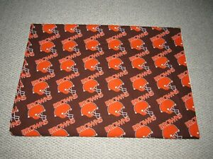 Vintage-1994-Cleveland-Browns-NFL-Football-Fabric-4-Yards-60-034-x-156-034
