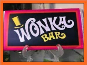 Details About Large Wonka Bar Real Chocolate Comes With Golden Ticket Novelty Stocking Fillers