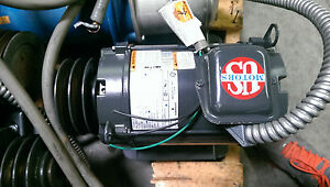 Emerson Ae22 Ae22y Electric Motor 5hp 208 230 460v 60hz