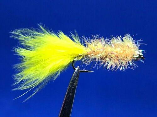 286 1 Dozen Bead Head Golden Fritz Size 10 12