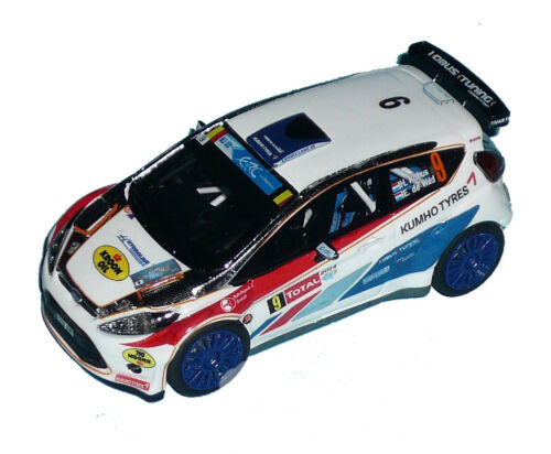 FORD FIESTA S2000 KOBUS  RALLY YPRES 2014  DECALS 1//43