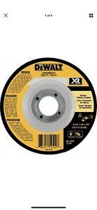 3Pack DEWALT XR Ceramic 4.5-in 24-Grit Grinding Wheel 4-1//4 x 1//8 x 7//8 Type 27
