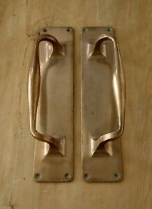 Pair Antique Pull Door Handles