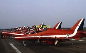 PHOTO-RED-ARROWS-AT-BLACKPOOL-AIRPORT-1982
