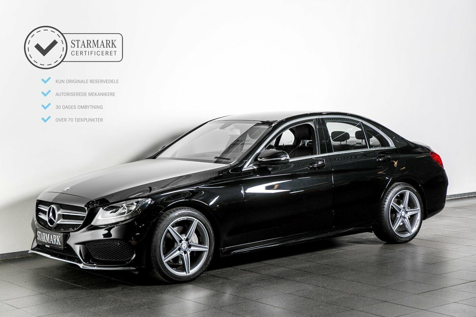 Mercedes C200 2,0 AMG Line aut. 4d - 399.900 kr.