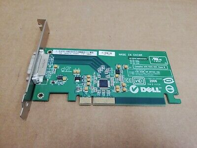 LOT OF 2 Dell Silicon Image ADD2-N DVI-D PCI-Ex16 Full Height Video Card KH276