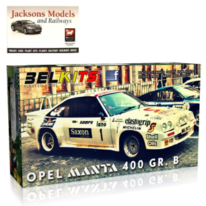 Belkits BEL009 Opel Manta 400 GR B Jimmy McRae 24 Uren van Ieper 1 24 Scale Kit