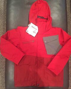 NWTs Marmot Boy's Space Walk Jacket. Small (6/7). Team Red / Dark Crimson. $155