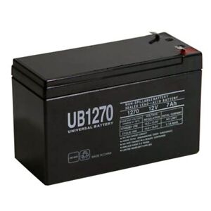 12V 7.2Ah F2 Replacement Battery for Ademco 4140XMPT