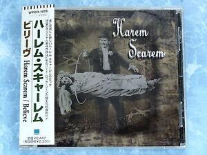 HAREM SCAREM Believe WPCR-1078 JAPAN CD w/OBI 067az40