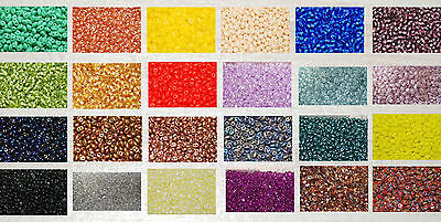 Twin Beads 5 x 2,5mm 2 Fädellöchern in vielen tollen Farben *Twin8002 - Twin9007
