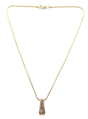 Zx65 Miniamalist Dainty Ladies Plain Golden Necklace Classiest of Affairs