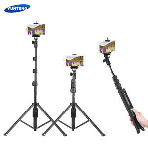 Yunteng Vct 1688 2 In1 Tripod Monopod Stand Remote F