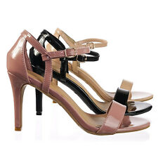 85d8441d532 Blaze21 Women s Classic 2 Piece High Heel Open Toe Dress Sandal w Ankle  Strap