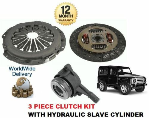 HYDRAULIC BEARING FOR LAND ROVER DEFENDER 2.2 TD4 2011--/>ON CLUTCH KIT 3 PIECE