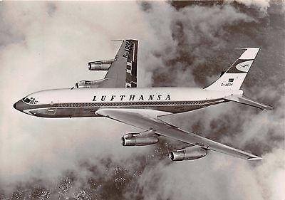 Luftfahrt & Zeppelin Spirited Luthansa Boeing Jet 720 B ~ Fluglinie Ausgegeben ~ Foto Postkarte Ample Supply And Prompt Delivery