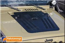NAKATANENGA HOOD LOUVER für Motorhaube JEEP WRANGLER JK Kiemenblech Alu -1 Düse