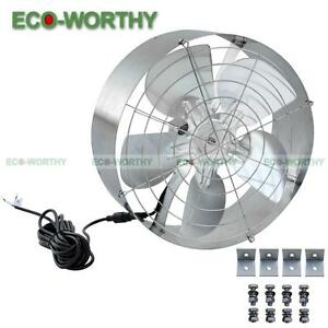 65w 3000 Cfm Solar Powered Vent Fan Efficient Cooling