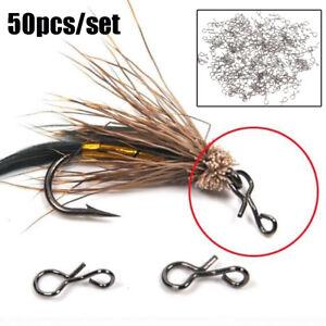 La-pesca-con-mosca-Snap-Colgando-Snap-Barril-giratorio-Conector-de-pesca